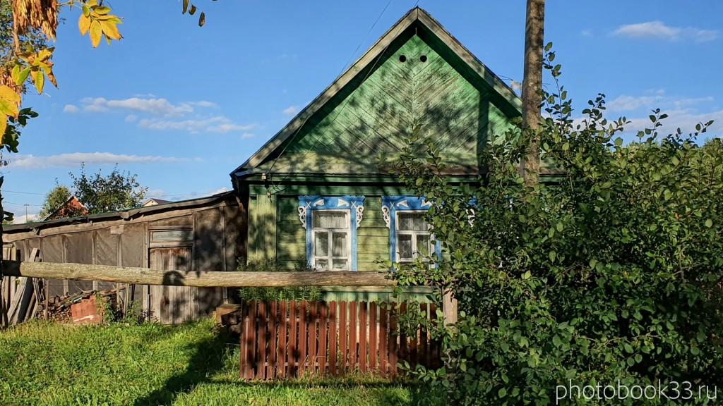 83 Деревянный дом с. Лазарево, Муромский район