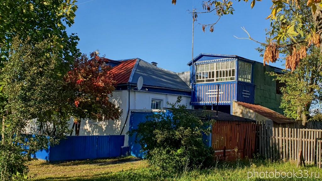 85 Кирпичный дом с Балконом в с. Лазарево, Муромский район