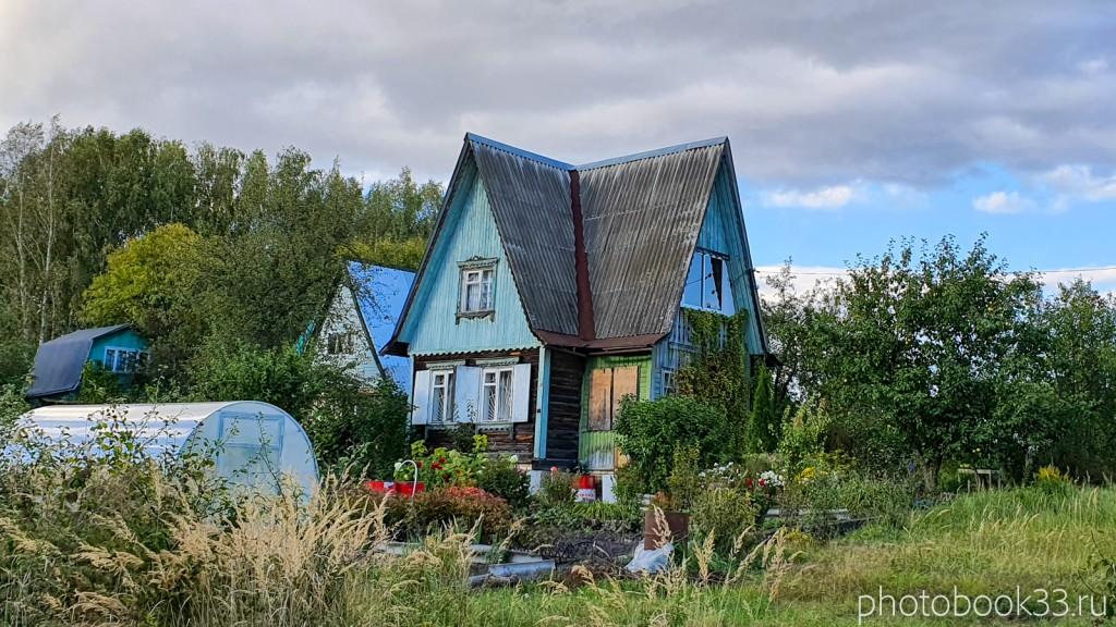 92 Двухэтажный дачный деревянный дом в с. Лазарево, Муромский район