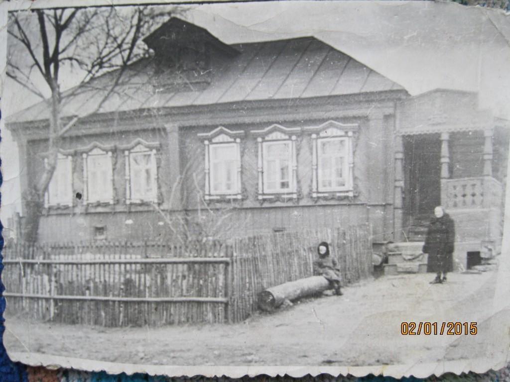 Шестидесятые годы прошлого века.Дом с мезонином Ефима Никитина