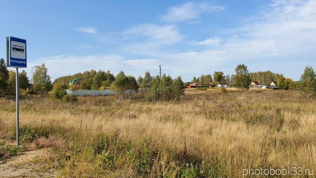 01 Автобусная остановка Кольдино, Муромский район