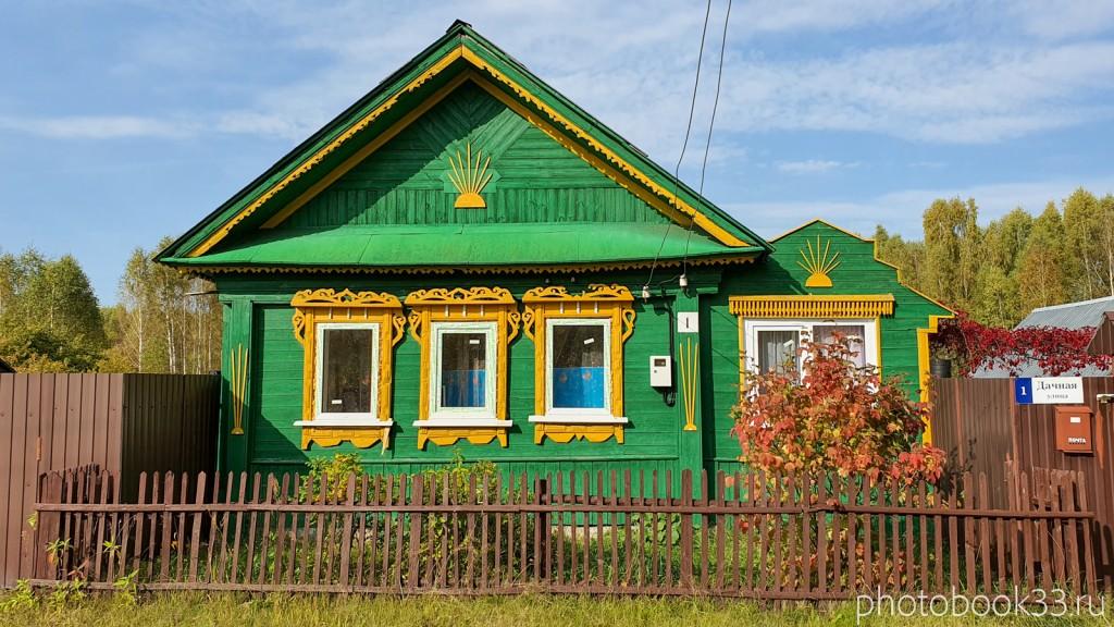 04 Деревянные дома в деревне Грибково, Муромский район