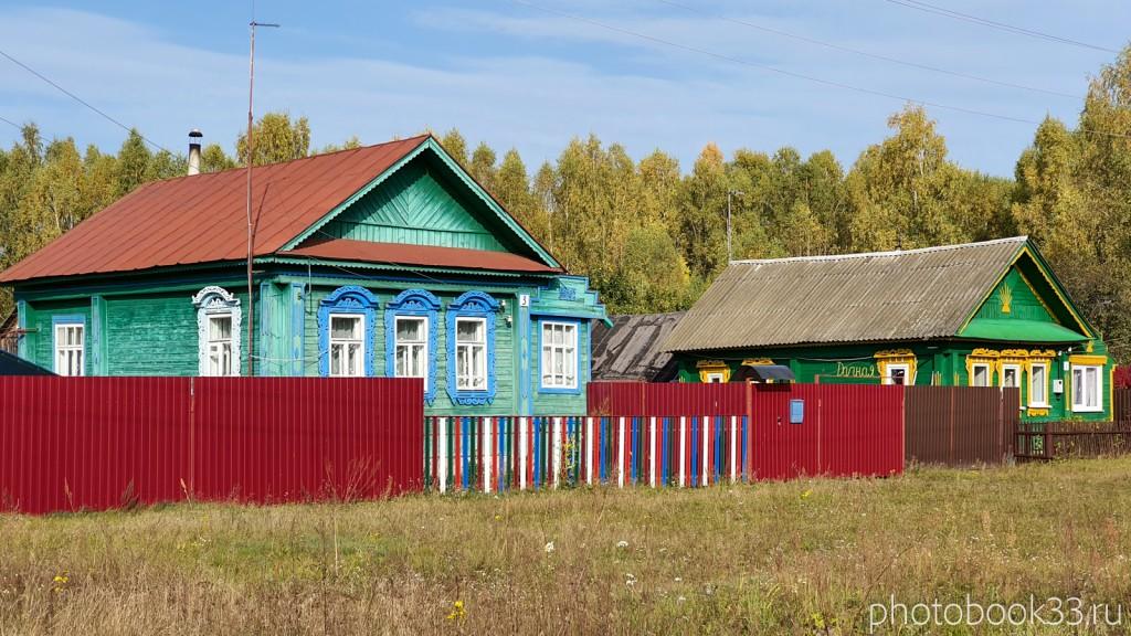 09 Деревянные дома в д. Грибково, Муромский район