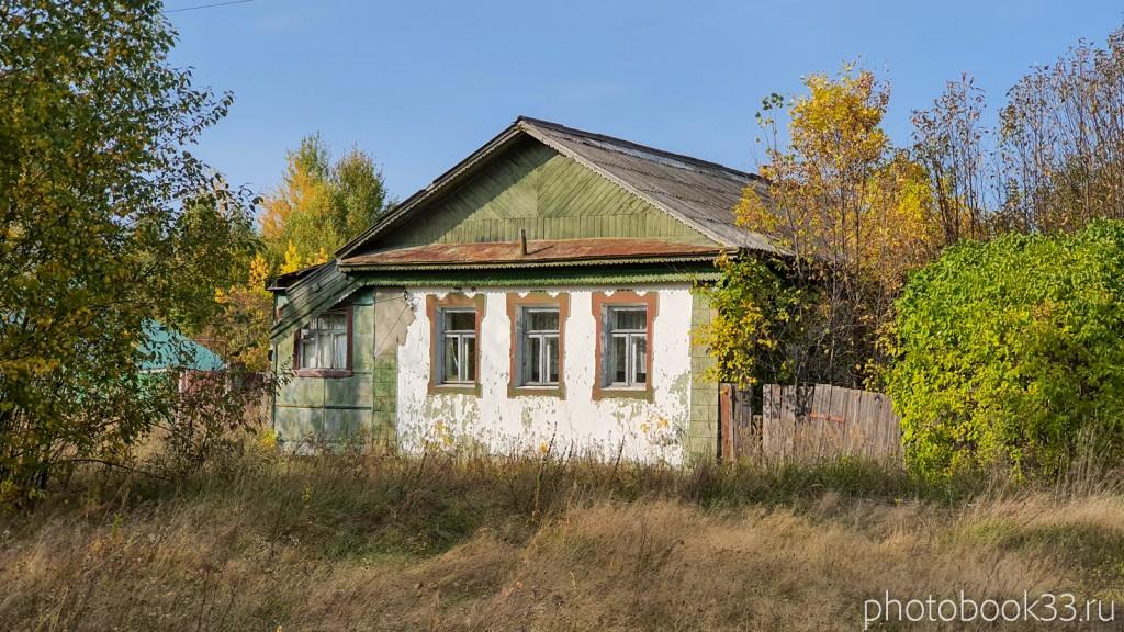 11 Кирпично-деревянный дом в д. Грибково