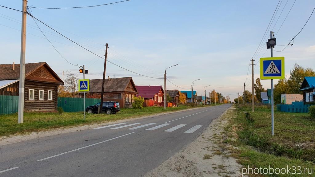 110 Центральная улица в с. Денятино, Меленковский район