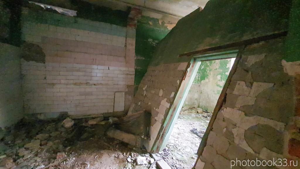 137 Разрушенная баня в с. Денятино, Меленковский район