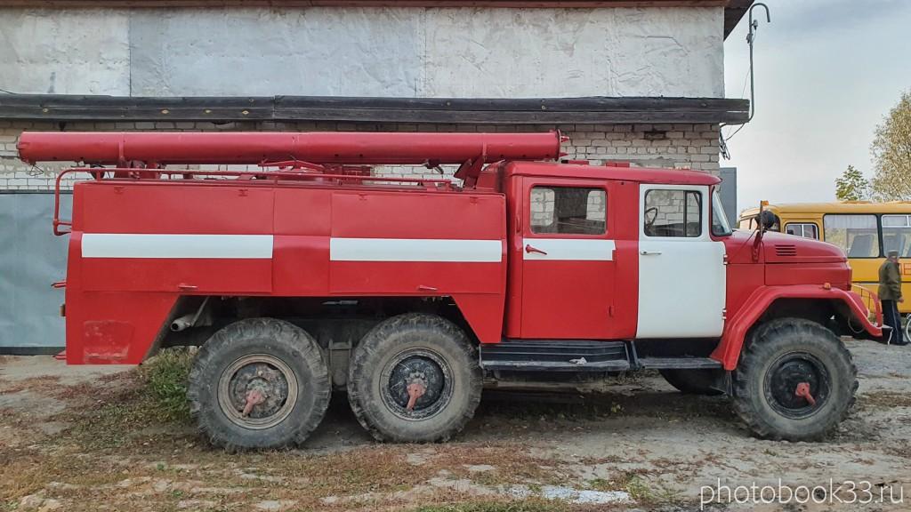 145 Пожарная дружина в с. Денятино, Меленковский район
