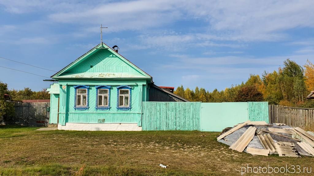18 Деревянный дом в деревне Грибково, Муромский район