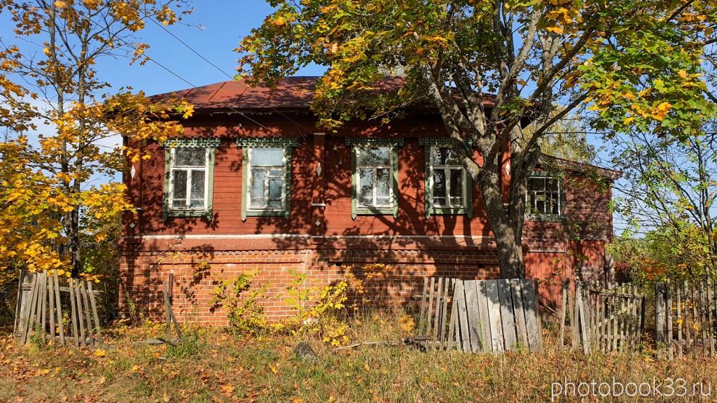 23 Старинный кирпично-деревянный дом в д. Кольдино