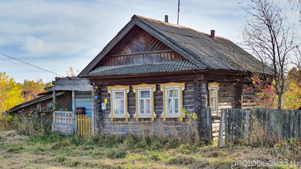27 Деревянный дом в д. Кондаково, Меленковский район