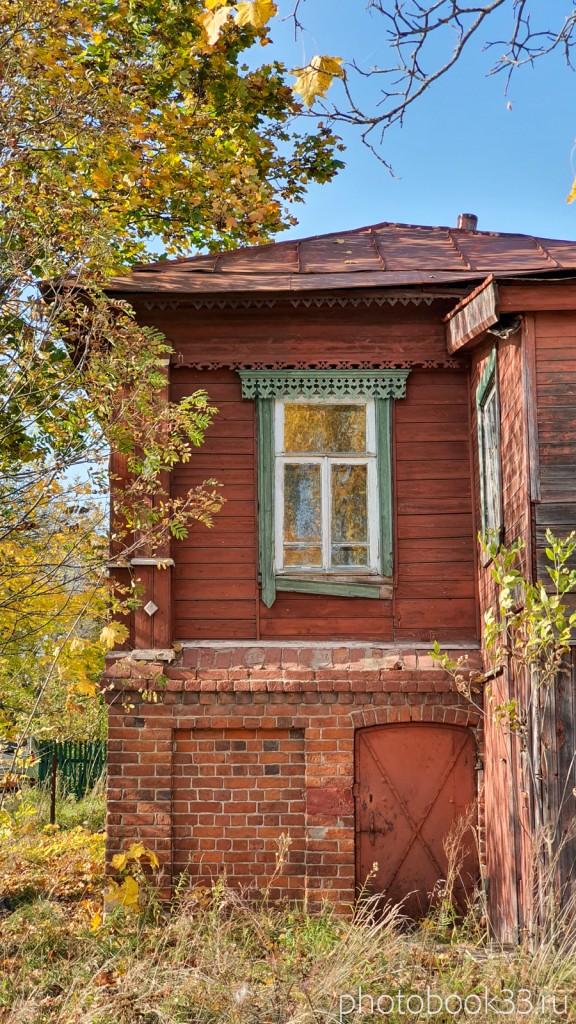 28 Старинный кирпично-деревянный дом в д. Кольдино