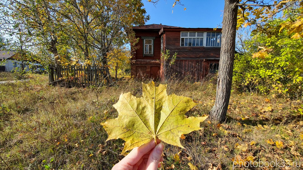 30 Старинный кирпично-деревянный дом в д. Кольдино