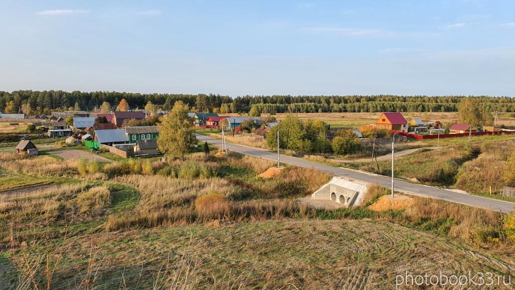 33 Село Денятино, Меленковский район с высоты