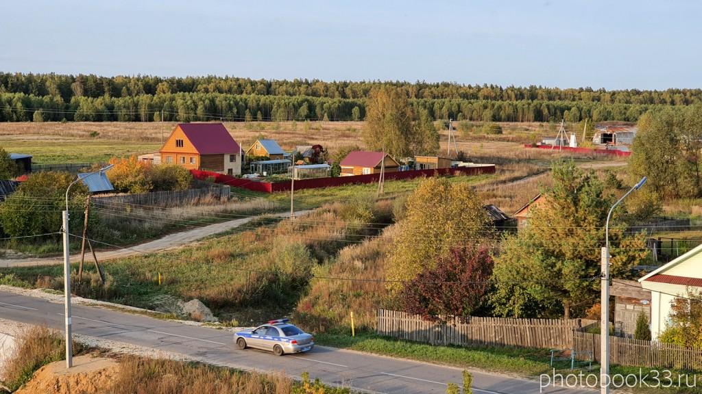 37 Село Денятино, Меленковский район с высоты