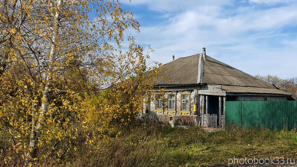 38 Деревянный дом в д. Кондаково, Меленковский район