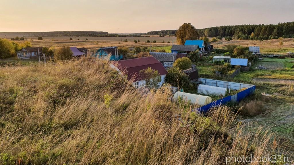 39 Село Денятино, Меленковский район с высоты