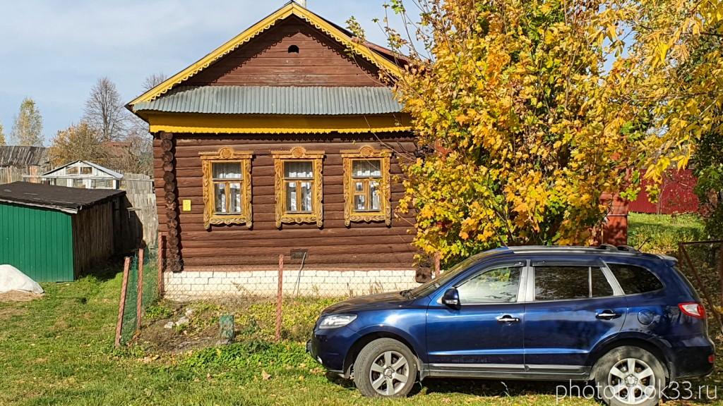 40 Деревянный дом в д. Кондаково, Меленковский район