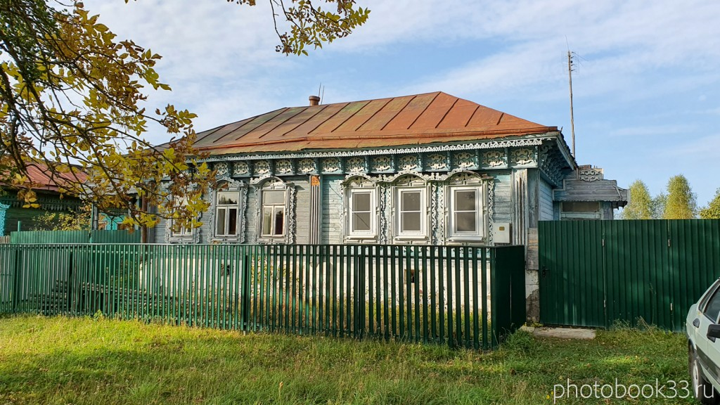 42 Деревянный дом в д. Грибково, Муромский район
