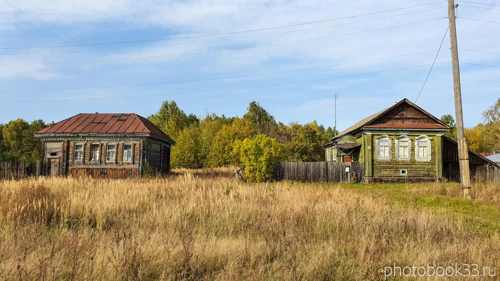 44 Старые дома в д. Грибково Муромский район