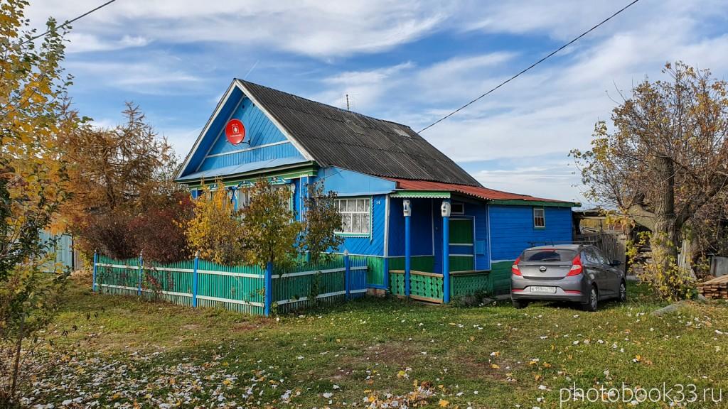 45 Деревянный дом в д. Кондаково, Меленковский район