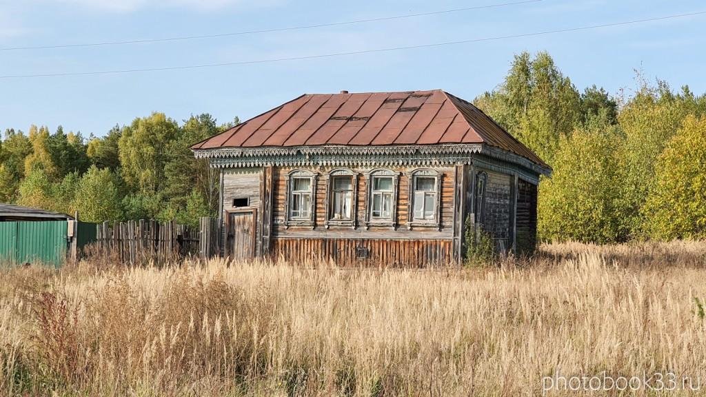 45 Старые дома в д. Грибково Муромский район