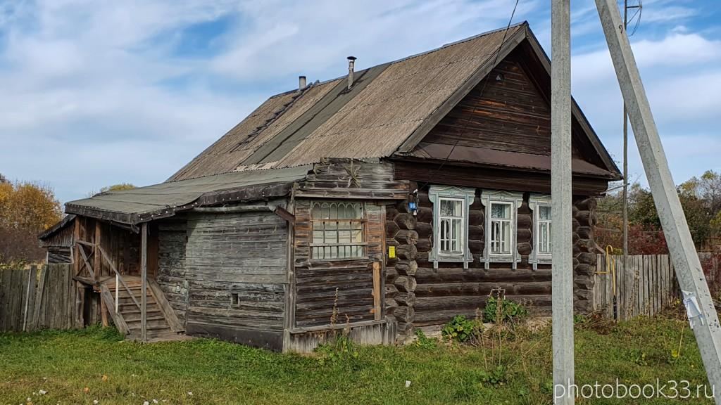 48 Деревянный дом в д. Кондаково, Меленковский район
