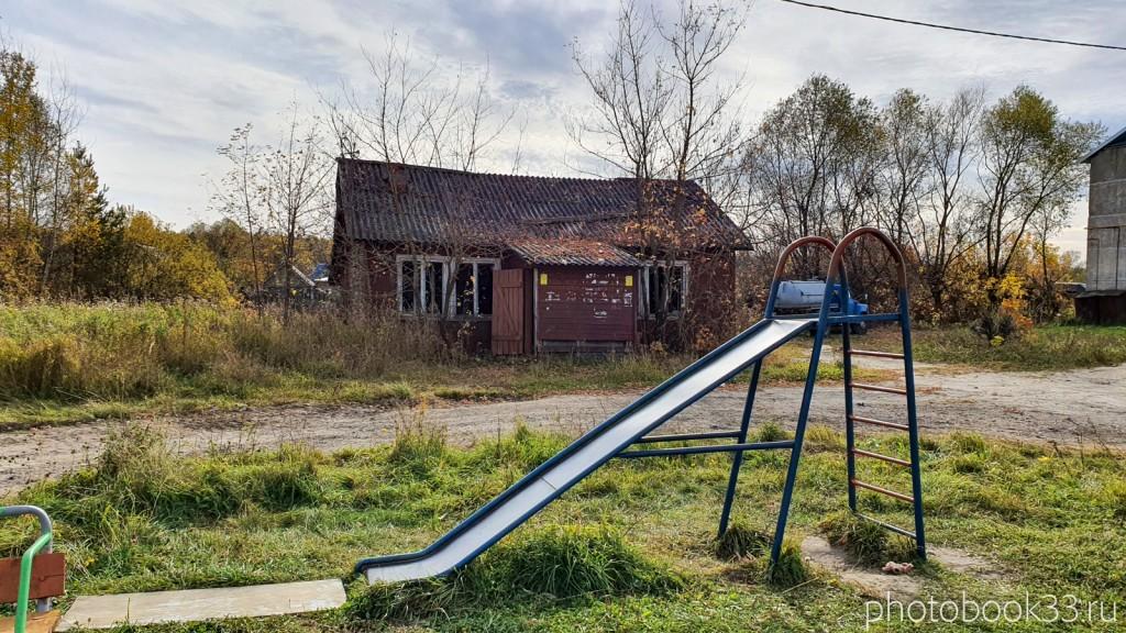 52 Заброшенный деревянный дом в д. Кондаково