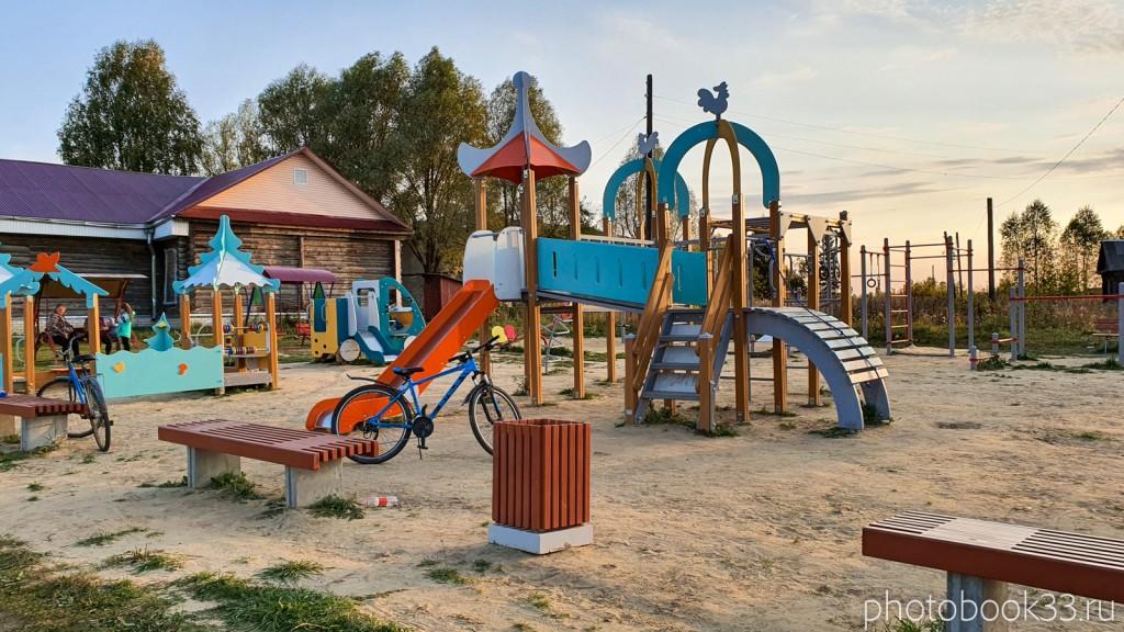 62 Детская площадка в с. Денятино Меленковский район
