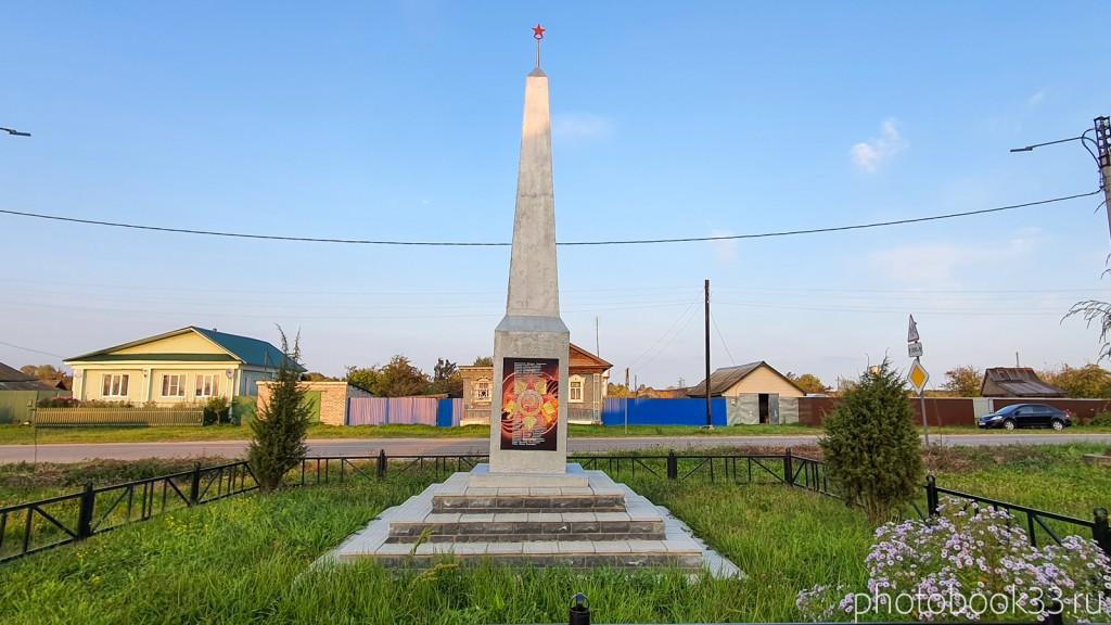 81 Памятник ВОВ с. Денятино Меленковский район