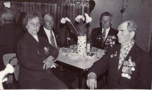 Ветераны села Стригино