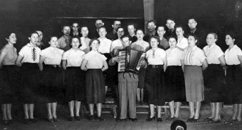 Знаменитый Стригинский хор 1960 год