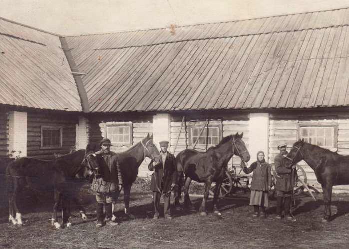 Конюхи села Стригино