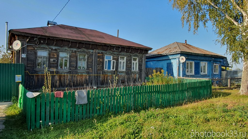 07 Деревянные дома в селе Стригино
