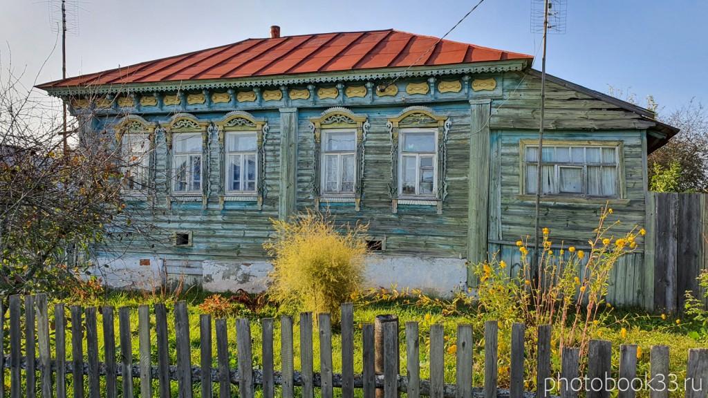 10 Деревянный дом в селе Стригино, Муромский район