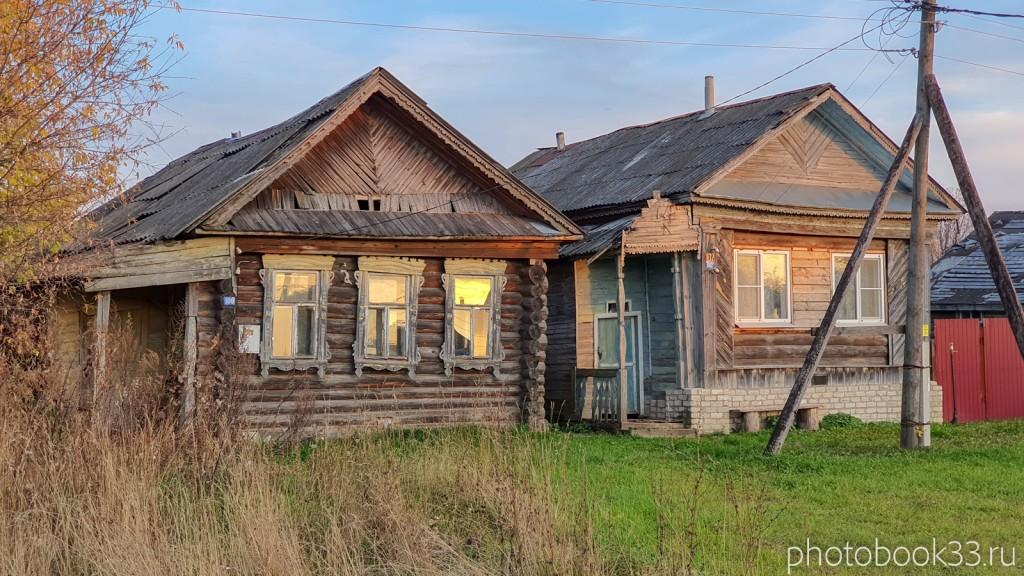 104 Деревянные дома в д. Левино, Меленковский район