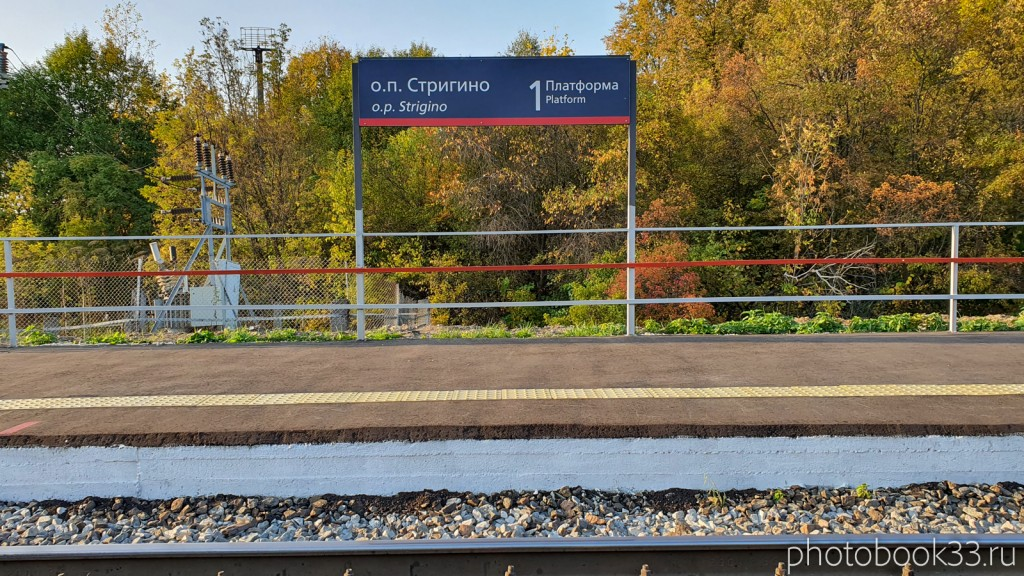 106 Железнодорожная станция в с. Стригино, Муромский район