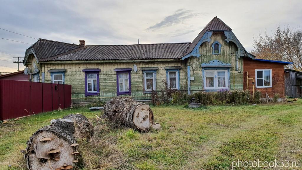 116 Старое деревянное здание в селе Бутылицы, Меленковский район
