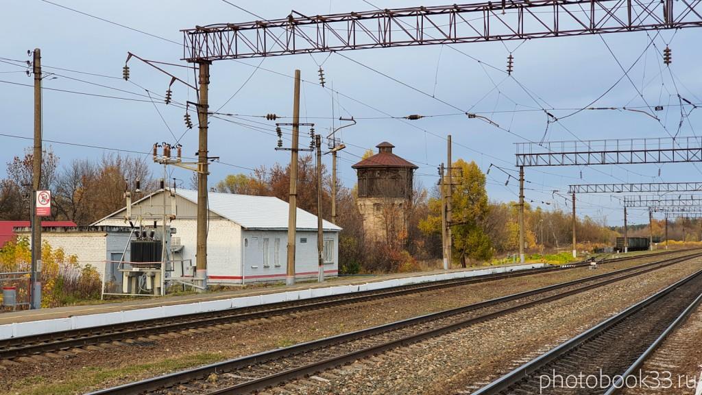123 Старая водонапорная башня в селе Бутылицы, Меленковский район