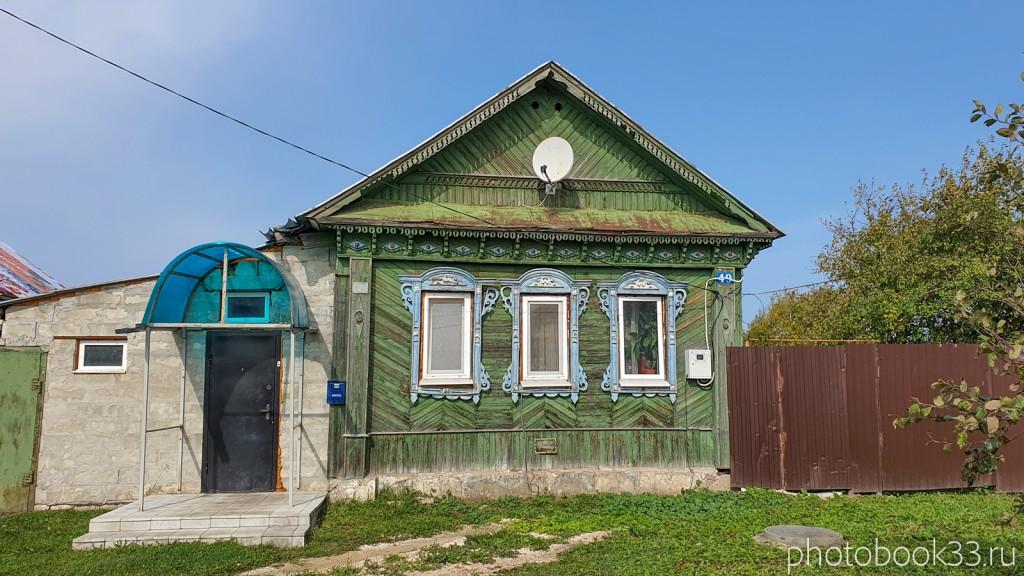 15 Деревянный дом в деревне Орлово