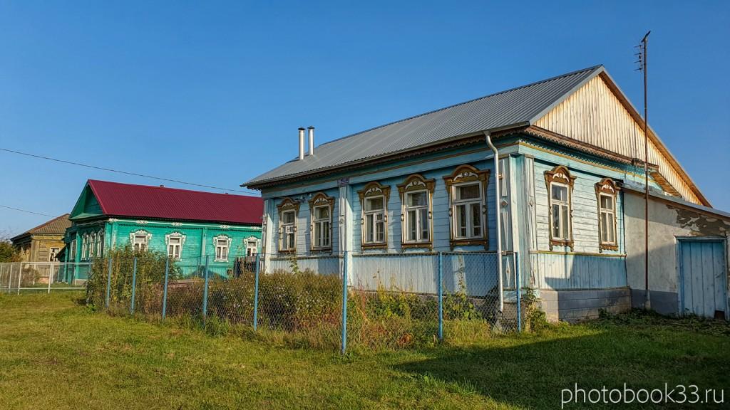 27 Деревянные дома в с. Стригино