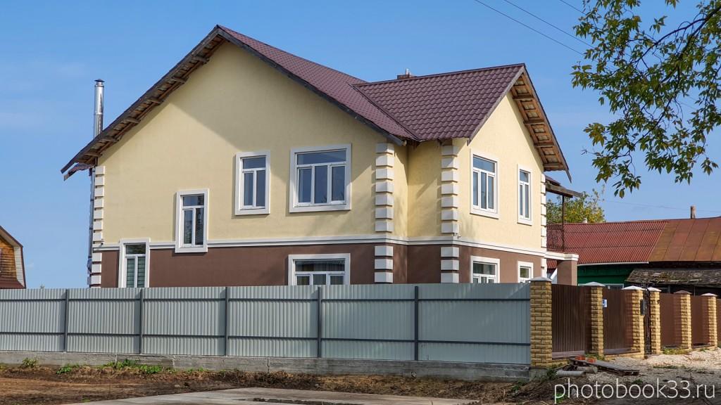 27 Новый двухэтажный дачный дом в деревне Орлово