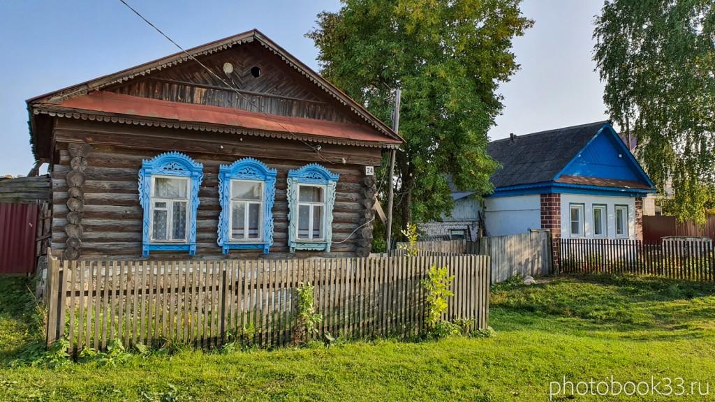 29 Деревянные дома в с. Стригино