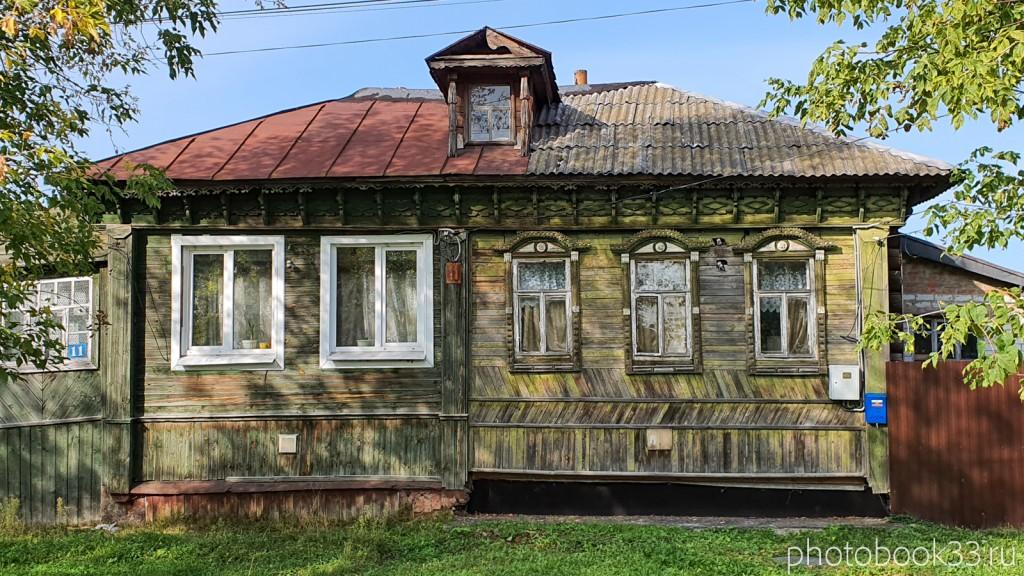 34 Деревянный дом в Орлово, Муромский район