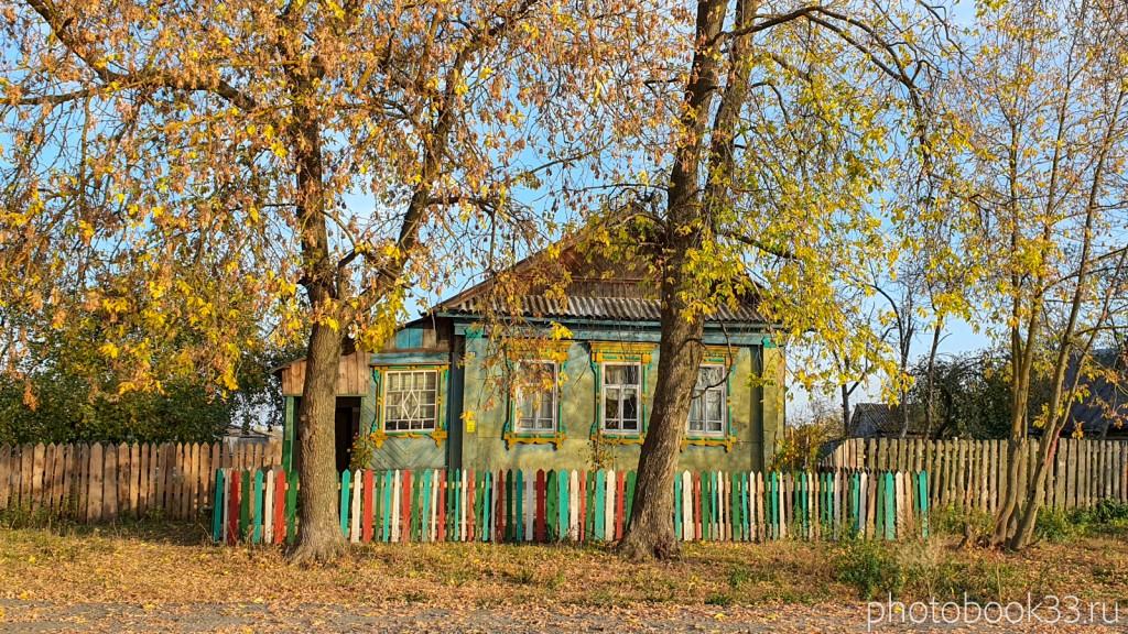 56 Деревянный дом в селе Левино, Меленковский район