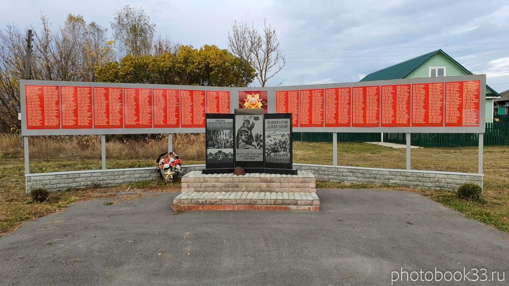 57 Обелиск Памяти «афганской войне», Бутылицы