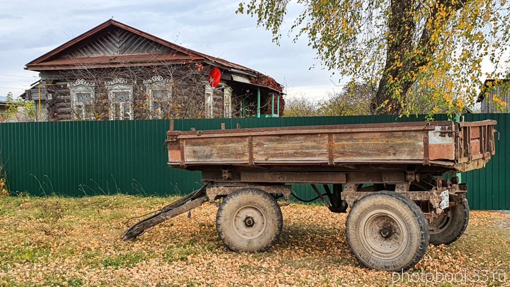 63 Сельский пейзаж. Бутылицы, Меленковский район