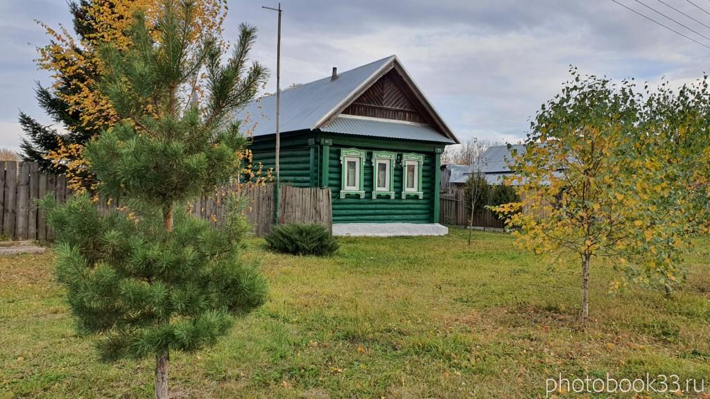 68 Деревянный дом в селе Бутылицы
