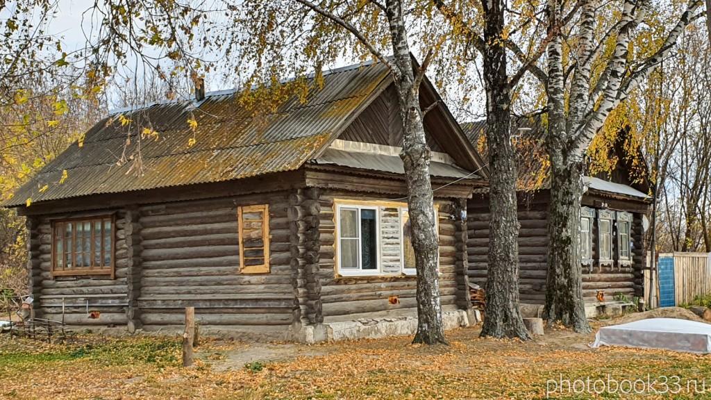 77 Деревянные дома в с. Бутылицы, Меленковский район