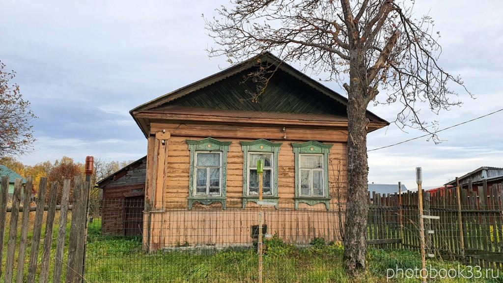 80 Деревянные дома в с. Бутылицы, Меленковский район