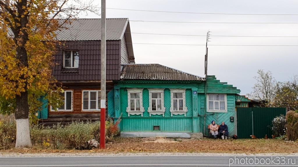 87 Бабушка с дедушкой в с. Бутылицы, Меленковский район
